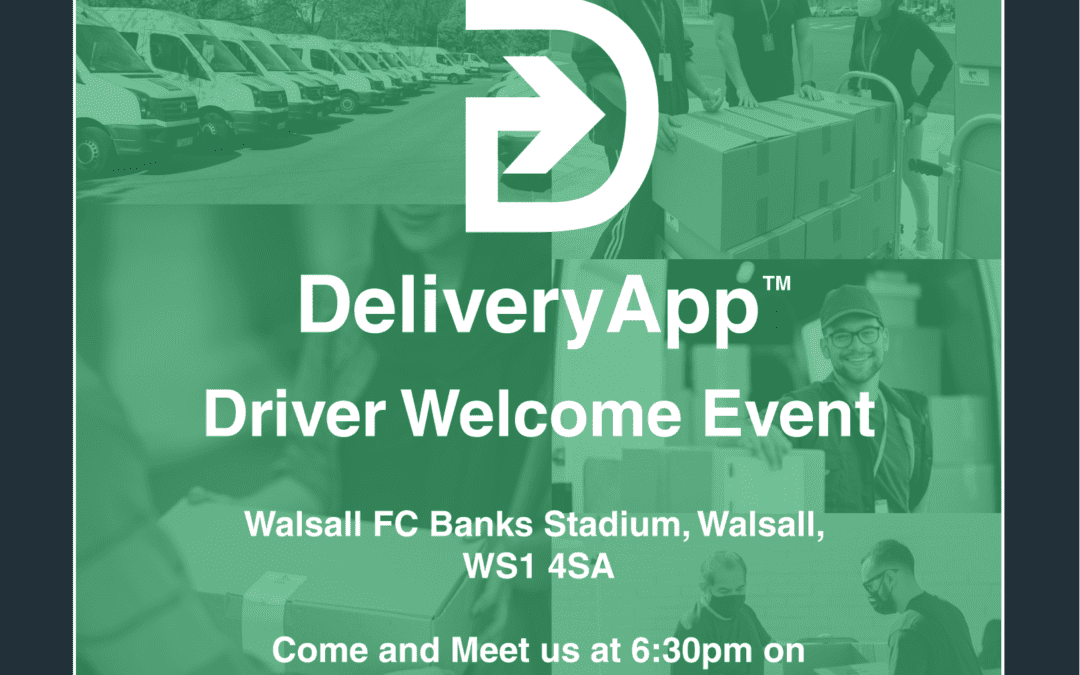 DeliveryApp Driver Welcome Event At Walsall FC