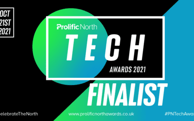 We've Been Shortlisted For The Prolific North Tech Awards!